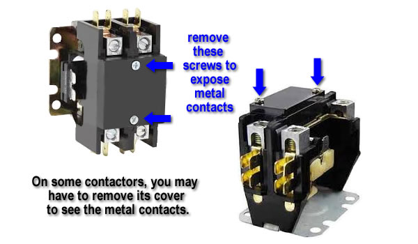 Heat Pump Or Air Conditioning Problems  Check The Contactor First