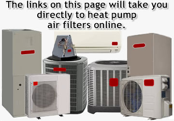 Heat Pump Air Filters Online Find Your Size Pleated