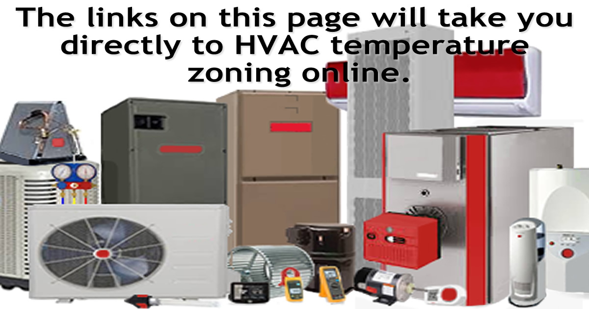 Temperature Zoning For Hvac Systems  Independent Room Control